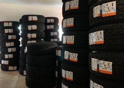 predaj zimnych pneumatik