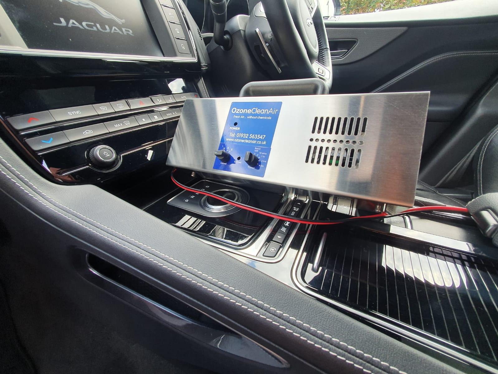 dezifnekcia ozonom ktorý zbavi auto virusov