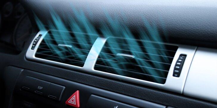 čistenie klimatizacie ozonom - dezinfekcia a dezodorácia