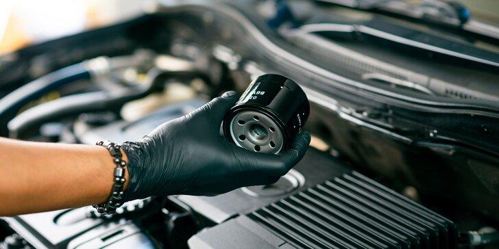 profesionálna výmena  motorového oleja, výmena olejového filtra, eliminácia nadmerného opotrebenia, riziká neodborného zachádzania
