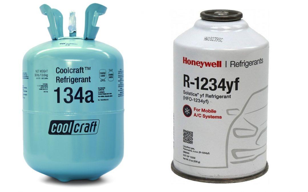 Aký je rozdiel medzi chladivom R134a a R1234yf?