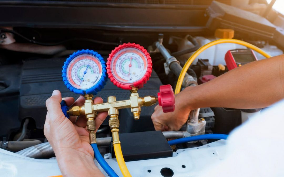 Ako prebieha plnenie klimatizácie chladivom R1234yf?